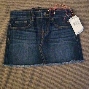 Girls Denim Skirt